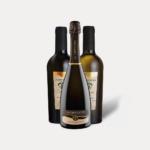 Confezione mista di 3 bottiglie (1 Extra Dry, 1 Bianco Passito, 1 Rosso Passito), La Cappuccina
